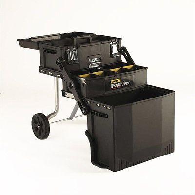 Stanley Rolling Tool Box Storage Cabinet Chest Portable Toolbox Garage Organizer