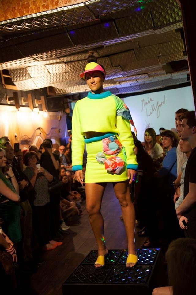 VAMFF Imprinting Wild Wardrobe: Maia Lillford Make Up: Evangeline Dickinson-Lowe Hair: Sophie Hobbs Photography:DPI Studios Model: Chenelle Brown