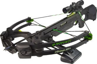 The Barnett Zombie 350 CRT crossbow. The quiet way to pick off zombies.