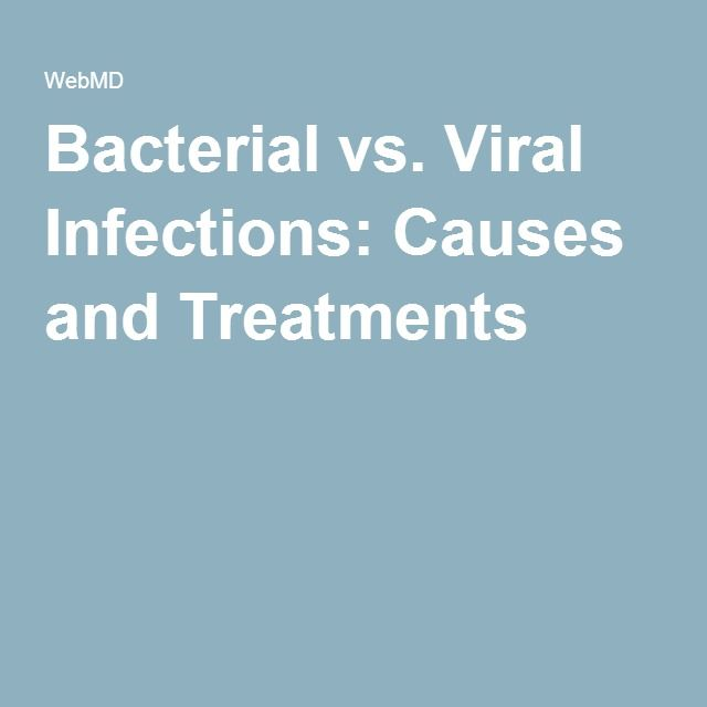 Best 25 viral infection ideas on pinterest viral infection bacterial vs viral infections causes and treatments sciox Image collections