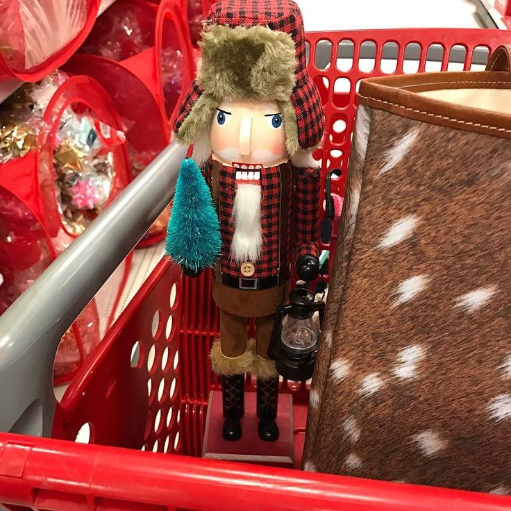 It's the last day of November can you believe it?! We can't! We meaning Larry the lumberjack & I....how cute is he?! My Christmas theme is kind of rustic chic so Larry was an obviously choice  p.s. If you haven't asked Santa for my faux deer bag you need to I get so many compliments where ever I go & it's so spacious! http://liketk.it/2pK1T @liketoknow.it #liketkit #ltkholidaystyle #christmas
