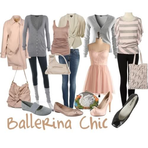 Black Swan Fashion Inspiration | Her Campus - I love the soft pink and grey