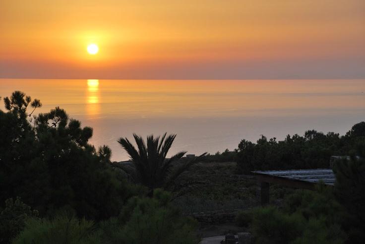 Veduta dal Dammuso Limoni, Pantelleria