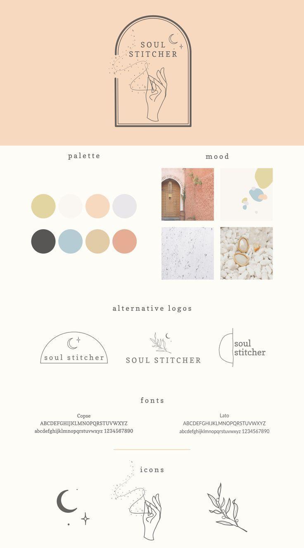 Soul Stitcher Alubia Design In 2020 Branding Design Inspiration Branding Design Logo Graphic Design Branding