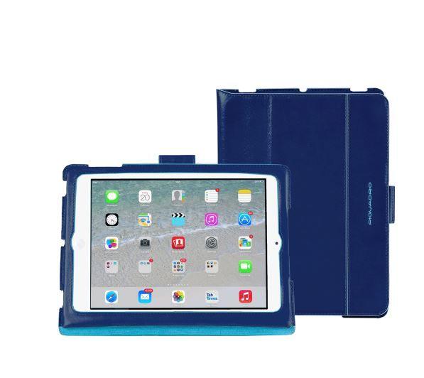 Custodie Ipad Air 2 e Mini Moda: come scegliere un Guardaroba trendy per il nostro Dispositivo Custodie Ipad Air 2 e Mini moda Piquadro blu