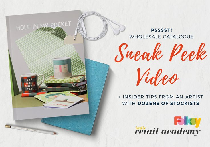 If you want to sell your products to shops you need a wholesale catalogue. But what should your brochure look like and what information should you include? Watch this video post for tips and a sneak peek!