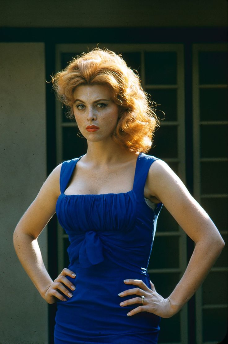 "modbeatnik: "" Tina Louise "" She has perfected the sassy pose right here. Take note of the body language and expression. Pure perfection."