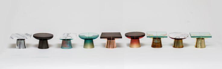 Craft Combine Plate_the metal surface treatment techniques #metal #design #patina #anodizing #brass #copper #aluminum #color