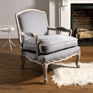 Charming The Lille French Style Armchair, Not On The High Street.com £290