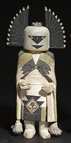 A Hopi kachina doll www.bonhams.com