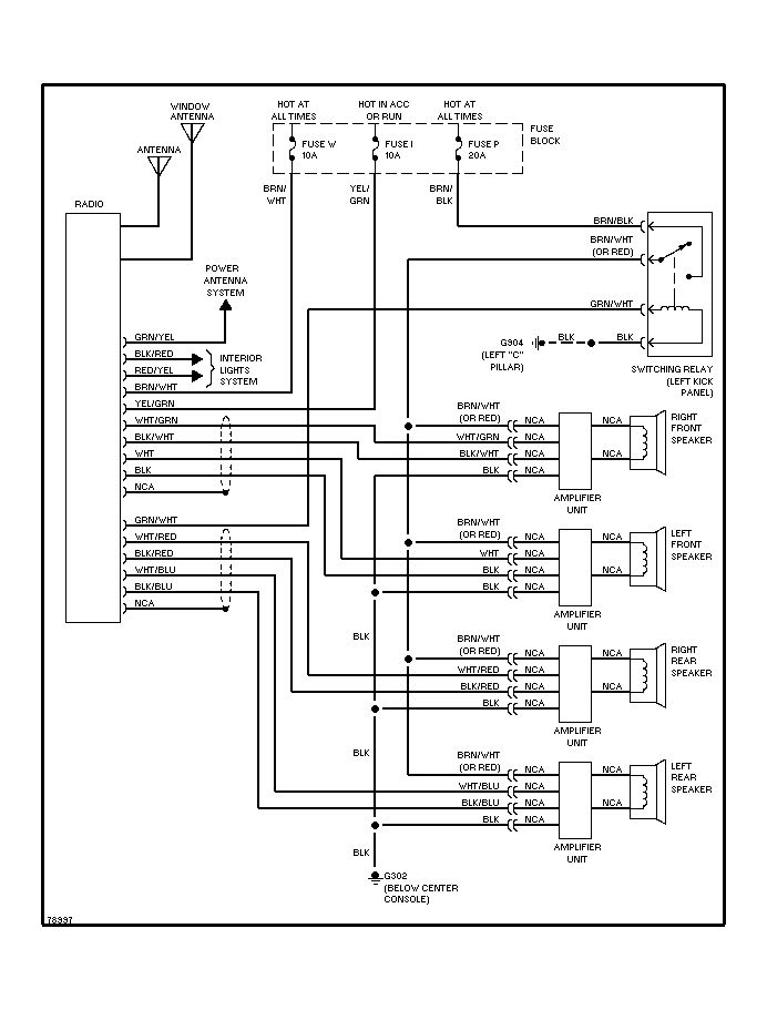 1999 Head Unit Wiring Diagram Nissan Altima Aftermarket