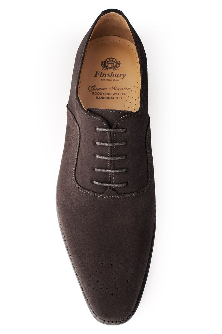 HARLOW Daim Marron - Finsbury Shoes