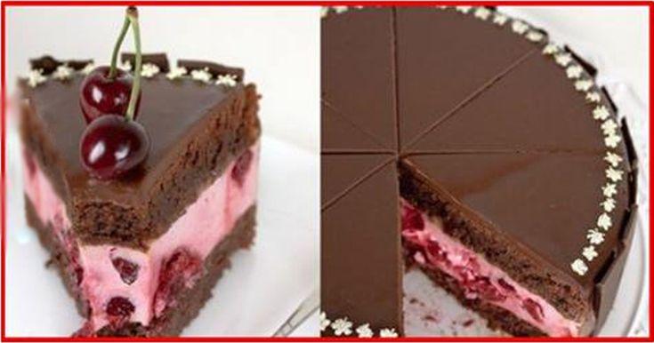 Tort de ciocolată cu vișine - o prăjitură de casă demnă de cele mai notorii restaurante! - Bucatarul