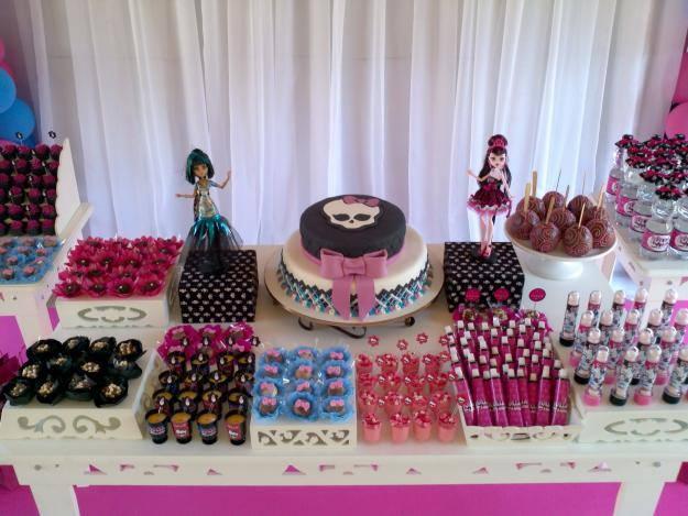 Festa Com Monster High 3 Festa Monster High Jpg See More 1 Decoração ~ Decoracao Festa Monster High