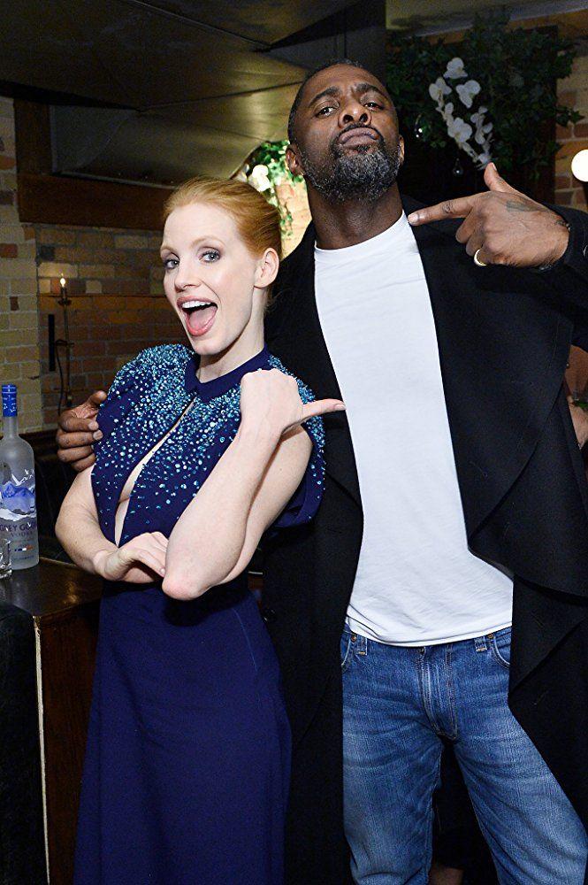 Idris Elba and Jessica Chastain TIFF 2017