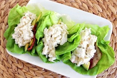 Crab Meat Lettuce Cups | Tasty = A Happy Recipe Community! =  Gluten-Free