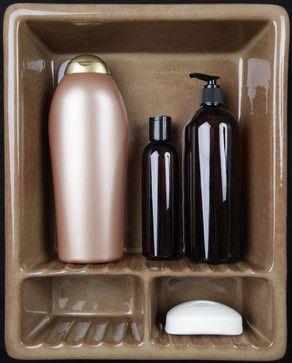 Bathroom Niche & Shelf Store contemporary shower caddies  #Luxury #Spa #Robe #Plush #pamper #bath #towels