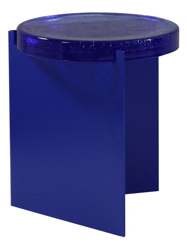 Alwa In Blue With A Blue Glass Top By Sebastian Herkner For Pulpo 1