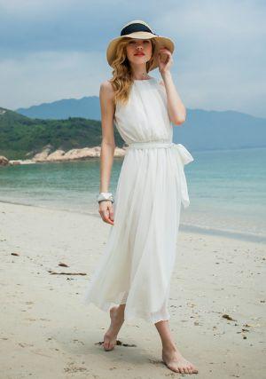 white beach dresses - Google Search
