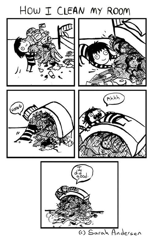 Sarah's Scribbles on GoComics.com #comics #humor