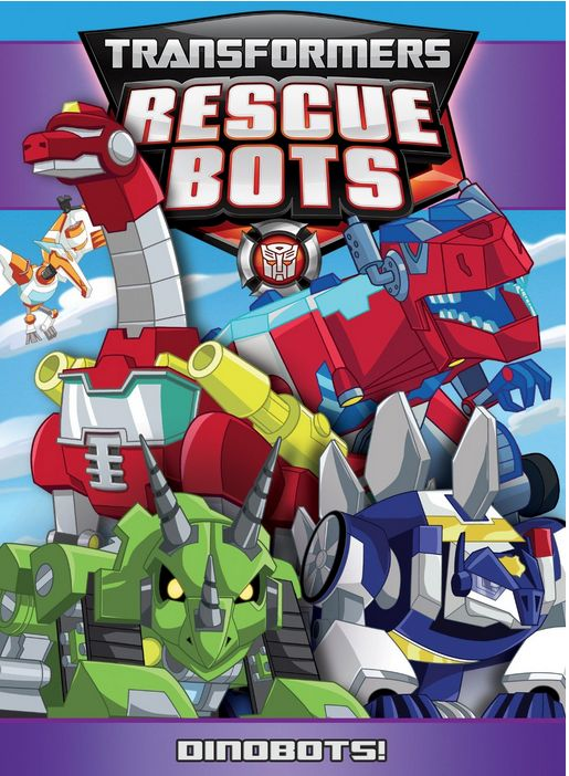 Transformers Rescue Bots: Dinobots! Released: Ausugt 25, 2015 Running Time: 30 minutes More fun with everyone's favorite Dinobots! Chase, Heatwave, Blades and Boulder are back for more rescuing adventures in Griffin Rock! This time, their adventures are going to be huge — and prehisto...