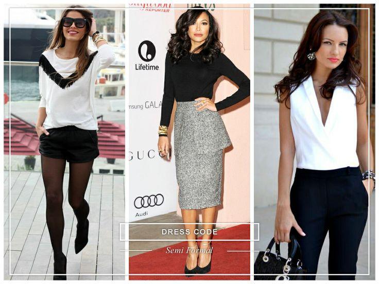 #dresscode #semiformal #woman