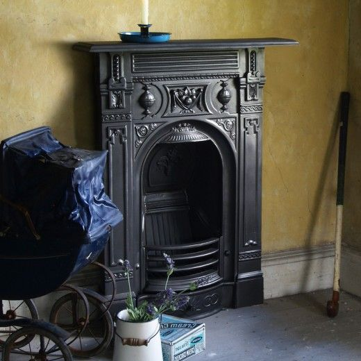 Victorian Small Cast Iron Fireplace - Bedroom Fireplaces - Fireplace Packages
