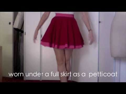 I will probably be making one of these - with a few finishing edits. Of all the tulle skirt tutorials I've seen, this one's got the best shape.