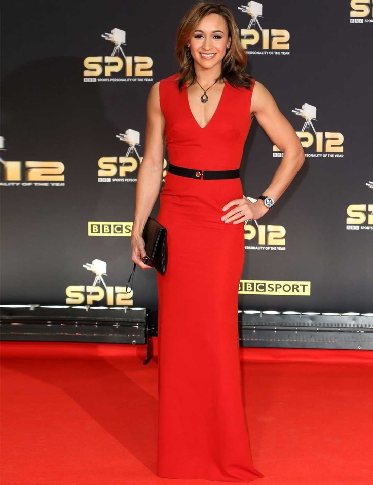Jessica Ennis wearing Victoria Beckham to the BBC Sports Personality of the Year Awards