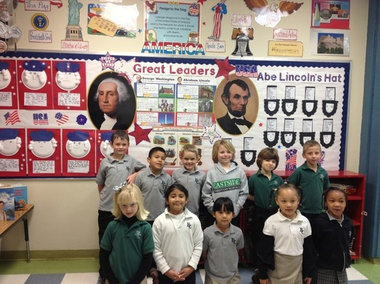 Great leaders: George Washington and Abraham Lincoln