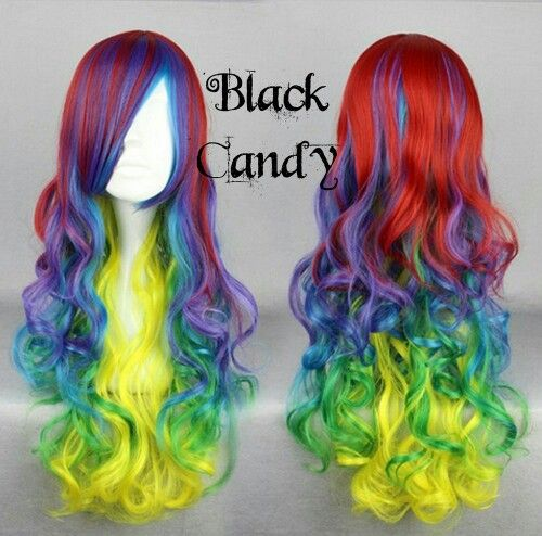 Confetti - Black Candy Fashion Wig - £21