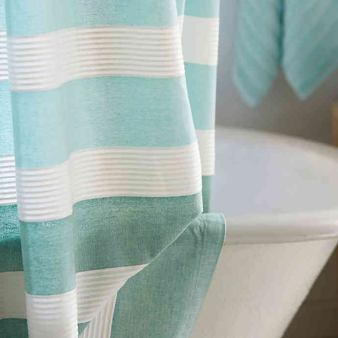 Dkny Highline Stripe Shower Curtain Bed Bath Beyond In 2020