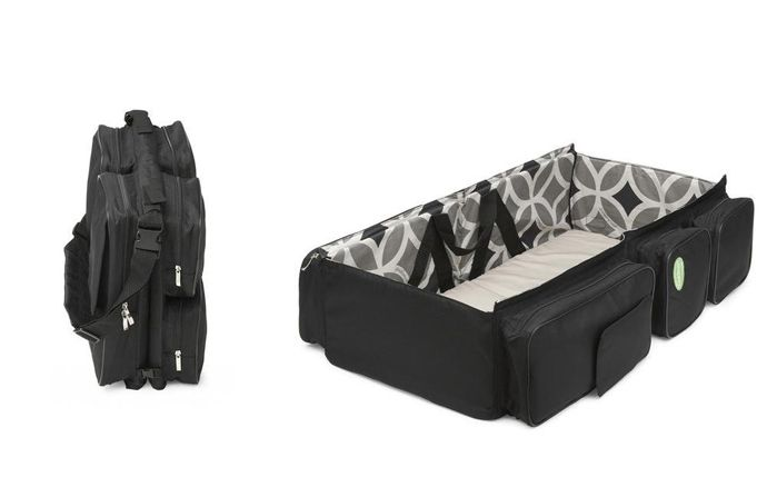 Baby Travel – A Bag That Turns Into a Baby Couch | http://www.designrulz.com/product-design/2012/08/baby-travel-a-bag-that-turns-into-a-baby-couch/