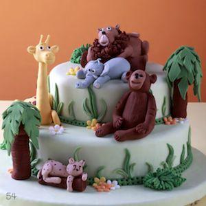 orman pasta, hayvanlar pasta, doğum günü pastası, butik pasta, çocuk pastaları Ormanda temalı bir çok şirin hayvandan oluşan #butikpasta #çocukpastası #doğumgünüpastası