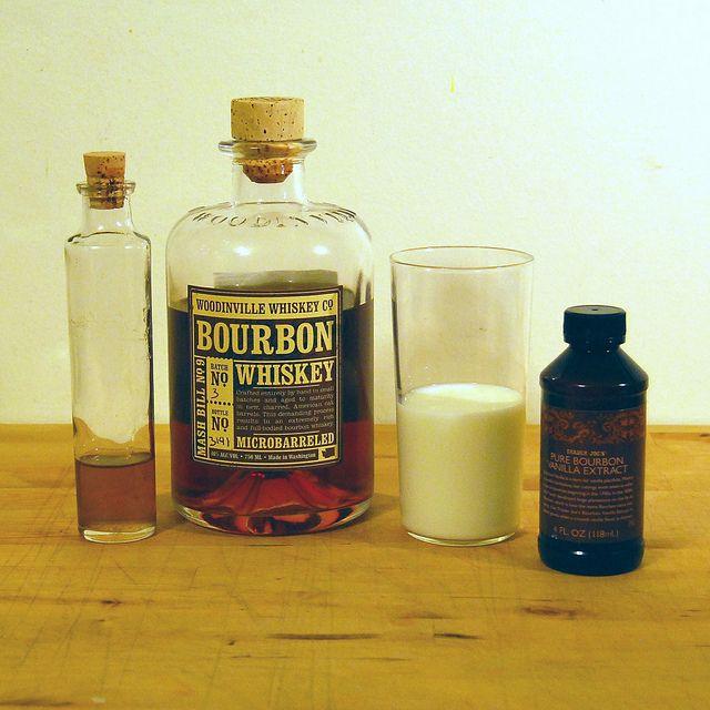 Bourbon Milk Punch: 1½ oz. bourbon, 2 tsp. simple syrup, 2 dashes ...