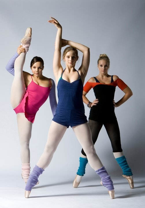 The girls of Dance Academy (thanks Netflix for my new find!)
