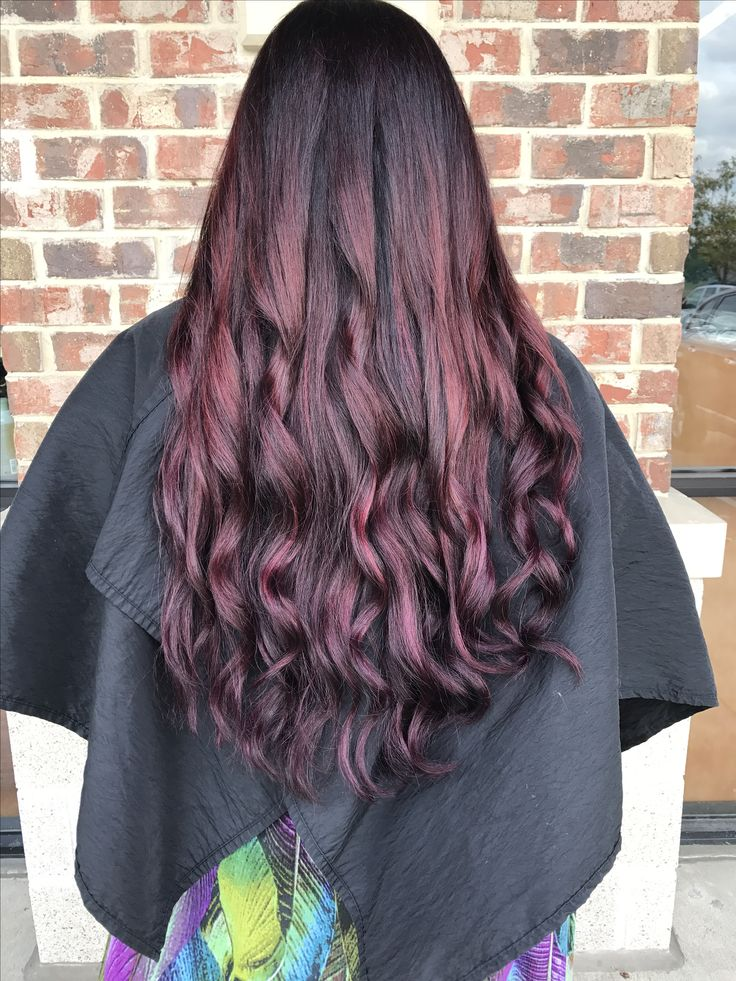 styles for layered hair 1000 ideas about purple highlights on 7140