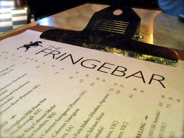 Fringe Bar has been a reliable Paddington watering hole over the years.
