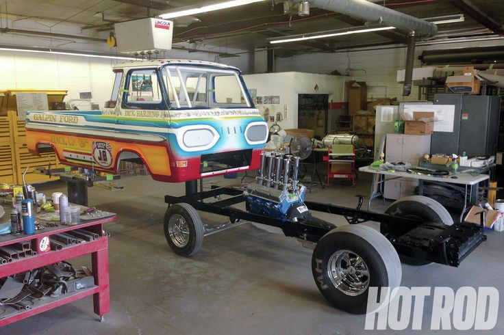 1965 Ford Econoline Pickup Truck | Ford Econoline Frame ...