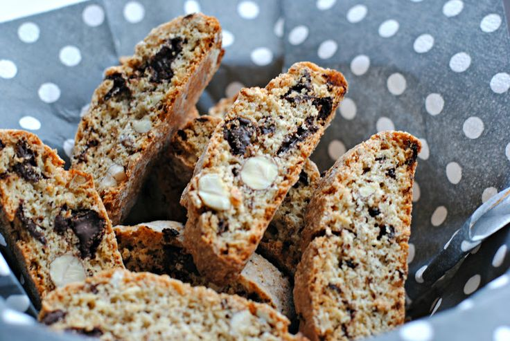 Anne's hyggested: Biscotti med chokolade