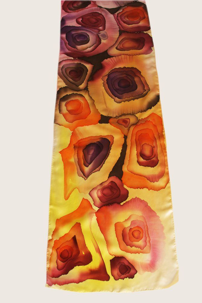 Silk Square Scarf - TANZ TROPIC SILK SQUARE by VIDA VIDA tRHgSqgN