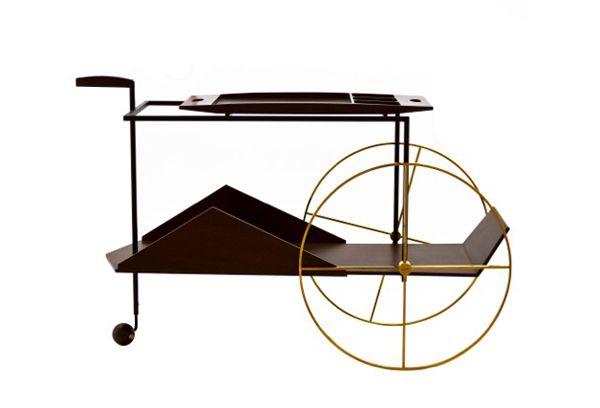 Architect Jorge Zalszupin's Tea Trolley
