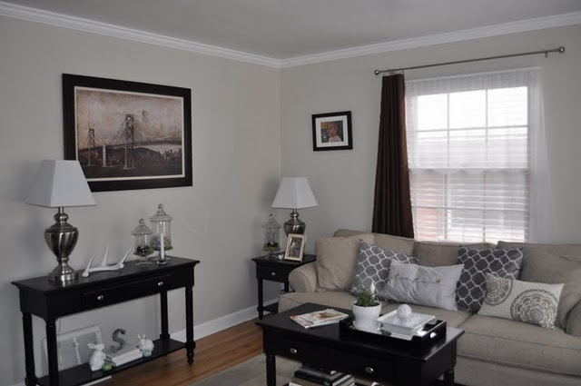 Oatlands subtle taupe by valspar for the home for Light gray taupe paint