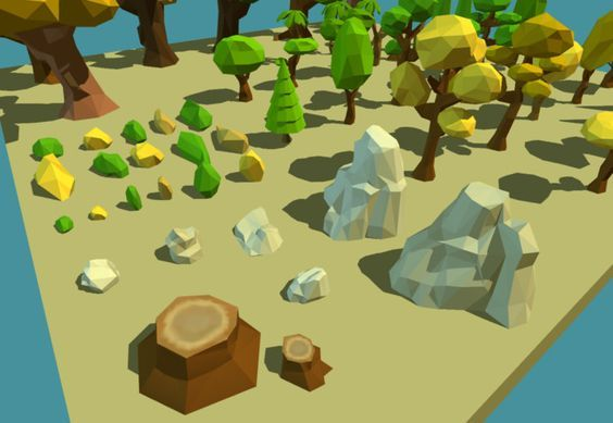 !!! CHRISTMAS SALE - LIMITED TIME !!!  Compatible with Unity 4.6.2 and later including Unity 5.x.  A low poly cartoon vegetation pack with 57 prefabs including many trees, bushes and rocks to create cartoon forests, exterior environments, outdoor games, etc...Mobile Ready: A single 128x128 texture atlas and different LOD levels.  SEE WEB DEMO HERE (Unity Web Player)  UPDATE 2.0: --------------------  Added more assets! see below:   - 32 Trees (forest trees, pine trees, palm trees, etc...)…