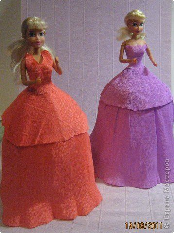 Куклы из конфет. МК. | Страна Мастеров