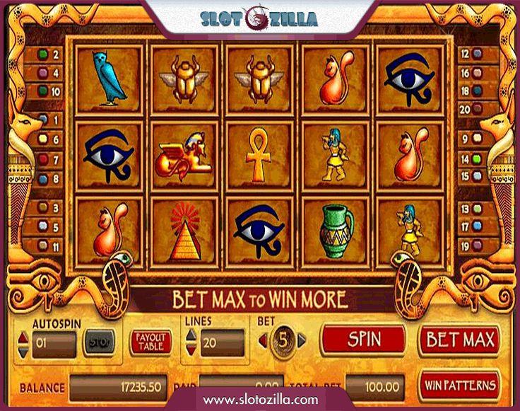 Experience the atmosphere of Ancient Egypt!   #spin2win the Treasure of Isis slot which will approach you to the heart&soul of Ancient Egypt secrets and mysteries. Decipher codes and find the hidden treasures.   Play at www.slotozilla.com | http://www.slotozilla.com/free-slots/treasure-isis