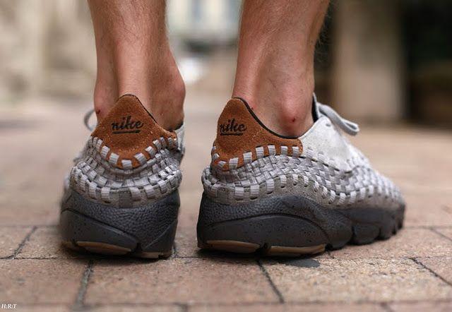Nike Air Footscape Woven Free Motion BODEGA x Tee Nike via stepintomyrunningshoes #NIke #Bodega #stepintomyrunningshoes