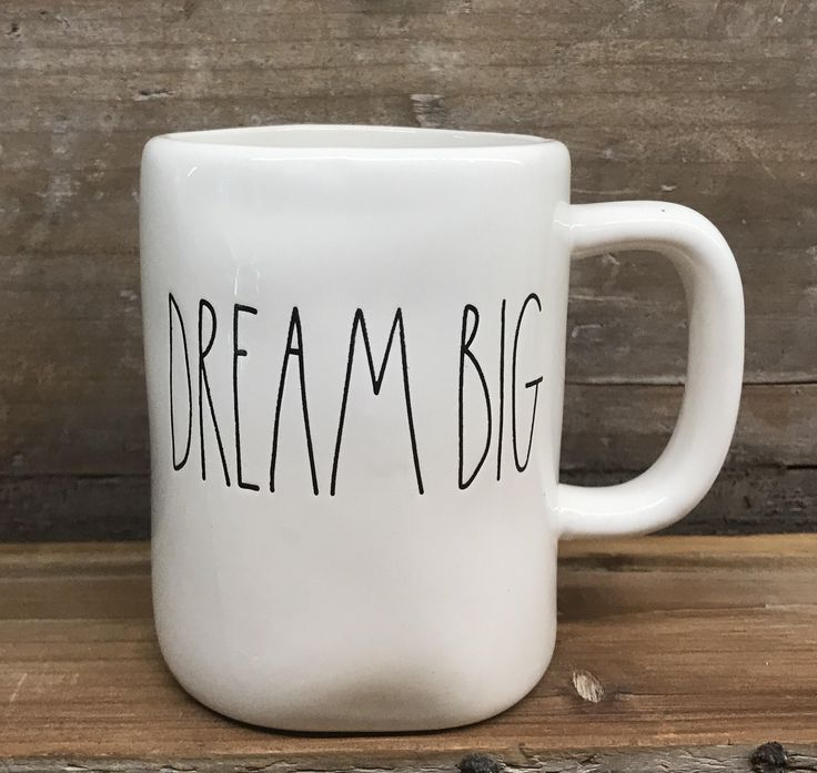 New Rae Dunn By Magenta Quot Dream Big Quot Mug Products I Love