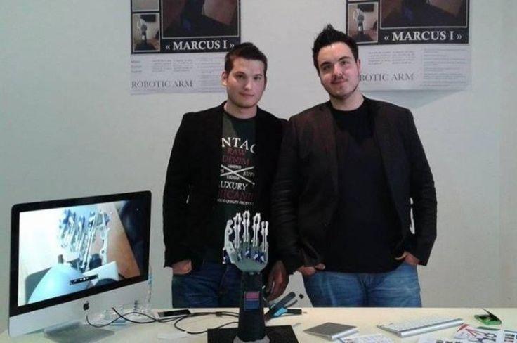 Βιονικό χέρι από Έλληνες φοιτητές!
