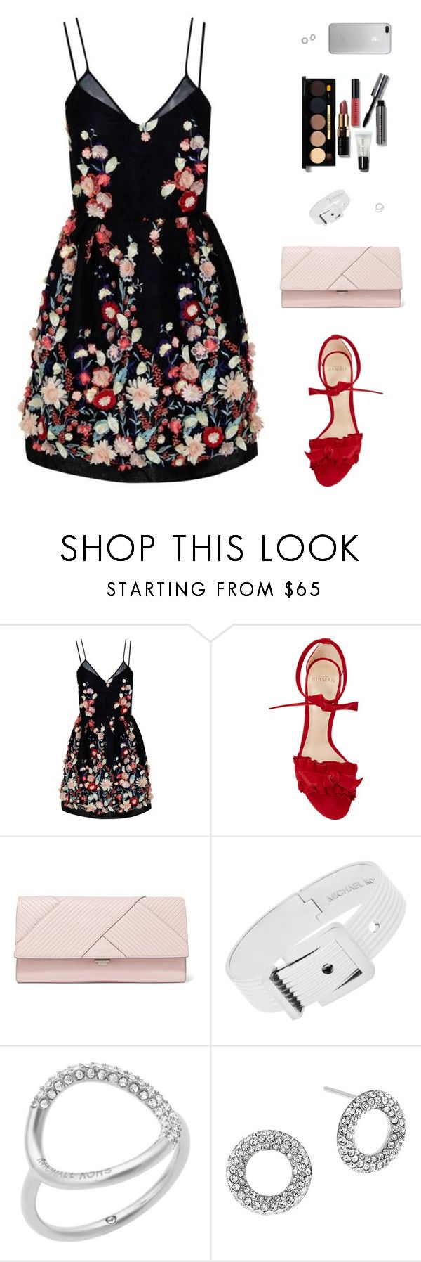 """Sin título #4791"" by mdmsb on Polyvore featuring moda, The 2nd Skin Co., Alexandre Birman, Michael Kors y Bobbi Brown Cosmetics"